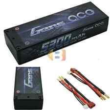 Gens ace 5300mAh 7.4V 65C 2S1P Hard Case Lipo Battery Pack for RC Car 1/10 1/8