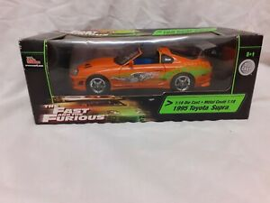 ERTL 1:18 FAST AND FURIOUS 1995 Supra Paul Walker RACINGCHAMPIONS very rare!