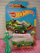 Case J/K 2016 i Hot Wheels GT HUNTER #27✰Green/Orange; 10✰DIGITAL CIRCUIT