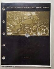 2001 HARLEY DAVIDSON FXDWG2 MODELS PARTS MANUAL / PN 99430-01