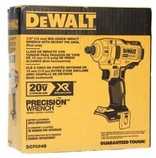 "DEWALT DCF894B 20V Max XR 1/2"" Mid-Range Cordless Impact Wrench Deten Pin Anvil"