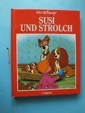 1986 Unipart Bilderbuch Walt Disney Susi und Strolch Hund Cocker Spaniel