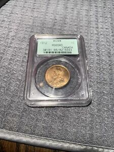Canada 1912 1 Cent  MS 65 PCGS