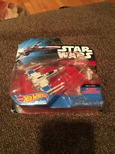 Hot Wheels 2014  Star Wars Resistance X-Wing Fighter White Sealed New