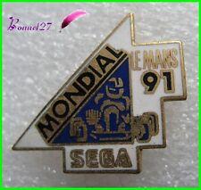 Pin's pins Badge Mondial Le mans 1991 Karting SEGA  #F1