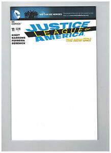 JUSTICE LEAGUE OF AMERICA #11  We Can Be Heroes Blank Cover     / 2014 DC Comics