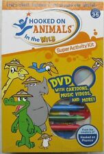 Hooked On Animals In The Wild Super Activity Kit Ages 3-5