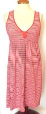 Summer Dress Junior Girls X Small Sleeveless Melon Stripe NWT C & C California