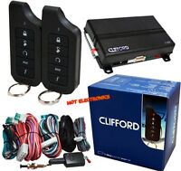 Clifford Matrix 1.2 Remote Car Starter and Keyless Entry 1-Way Clifford 4102X