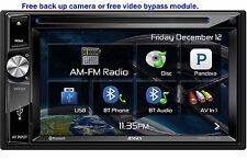 NEW Jensen VX3024 Double DIN Bluetooth HD Radio XM Ready DVD Car Stereo Receiver