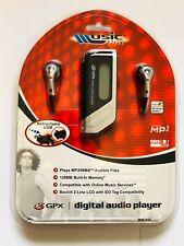 NEW GPX Digital MP3/WMA Audio Player 128 MB MW3805