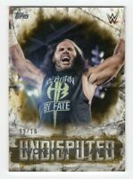 "Matt Hardy ""Woken"" 2018 Topps WWE Wrestling Card #26 Serial #'d /10"