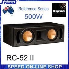 Klipsch RC-52 II 500W Reference Centre Speaker - Black Ash - (Ex-Display Unit)