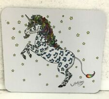 Unicorn Mouse Pad, New Orleans artist Jamie Hayes, printed in USA, collectible