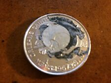 1967 Los Angeles Rams v New Orleans Saints Silver Football Coin 1st NFL Game