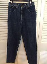 Zena Mom Jeans Ladies High Waist Jeans Medium wash Size 11 Made In USA EUC