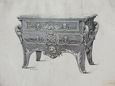§ Musée graphique par Edouard Lièvre - 25 planches de meubles et objets d'art §