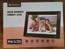 "New VANKYO Digital Photo Video Frame 10.1"" HD Touch Screen Smart Display WiFi"