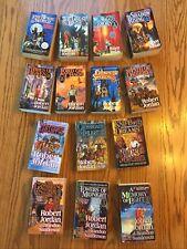 Complete 1-14 Robert Jordan WHEEL OF TIME Paperback Set All 1st Editions