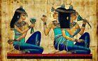 Vintage Egypt Egyptian Pyramid Art Pharoah CANVAS PRINT A3