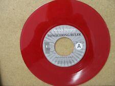 """DERRICK MORGAN/MARTIN CAMPBELL- Conquering Ruler RED VINYL 7"""" 2008 Reggae"""
