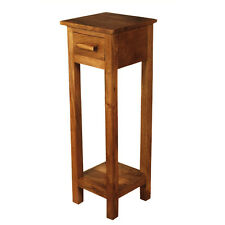 Golant Rosewood Tall Telephone Table / Dark Wood Tall Hall Table / Solid Wood