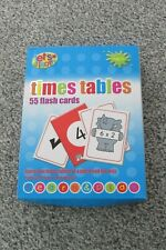Times Table 55 flash cards let learn maths (age 3+)