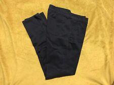 Womens Girls Navy Hollister School Uniform Pants Navy Size 5 Regular