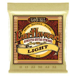 Ernie Ball Earthwood 2004 Acoustic Guitar Strings - Light 11-52