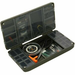 My-Fishing-World Tackle Box Tackle Safe compact Box 24cm x 13cm x 4cm NGT