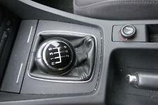 Audi A4 8E B6 B7 Schaltknauf Schalthebel Schalthebelgriff Schaltknopf Leder 6Gan