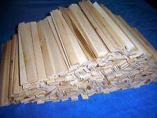 "500 + 5/8"" X 1/8"" X 8 3/8"" Long Sugar Maple Craft Sticks/ Dollhouse/ Flooring"