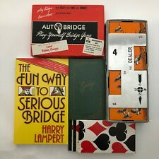 Vintage Bridge Lot Card Games