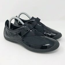 Cole Haan G Series Black Patent Leather Cross Strap Sneakers Shoes Women's 8 B