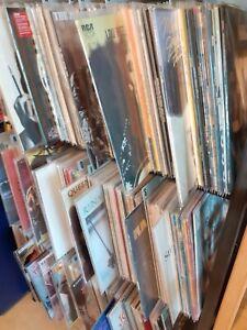 lot de vinyles 33 tours rock