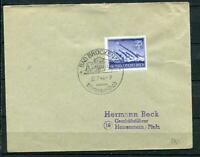 Germany 1944 Register Cover Bad Bruckenau Cancel Mi 884 CV € 250 WWII g1414s