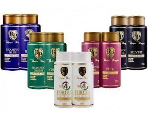 Hair Toner Robson Peluquero 5 kits 300ml Pink, Blue, Green, Silver, 4 Forces