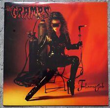 CRAMPS Flamejob Vinyl LP, 1st Press, Red Vinyl, Epitath 1994, SEALED Flame job