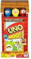 Mattel Games - UNO: Moo! [New ] Card Game