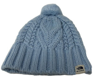 The North Face Infant Snow Beanie Size XXS O - 6 Months Baby Blue