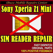 Sony Xperia Z1 Mini Compact SIM READER REPLACEMENT REPAIR SERVICE
