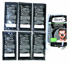 Men's Skincare Charcoal Deep Cleansing Pore Strips 6ct NEW DAMAGED BOX - READ