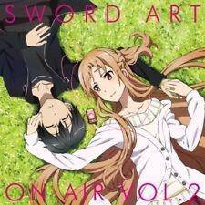 Radio CD Sword Art on air Vol.2 CD Japan Music Japanese Anime Manga