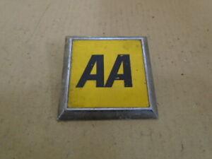 A A Square Badge - retro classic badge Automobile association