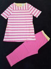 BeeDees Jersey Pyjama Schlafanzug Set T-Shirt + 3/4 Hose NEU 40 L Sleepwear NEW