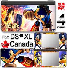 SONIC SKIN COVER COVER STICKER #1 for Nintendo DSi XL