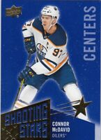 CONNOR McDAVID NO:SSC-1 SHOOTING STARS CENTER in UPPER DECK  2018-19  LOT 26   a