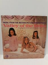 Valley of the Dolls Motion Picture Soundtrack Lp 20th Century 1967 Sharon Tate