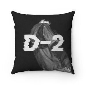 BTS Agust D D-2 Polyester Square Pillow