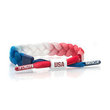 New Rastaclat² red white blue gradient classic lace bracelet